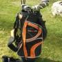 Golf set. 13 bastoni + sacco + trolley